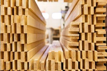 最新の木材加工技術、徹底した品質管理